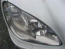 画像5: ■施工例■ メルセデスベンツ(W220) ヘッドライトの劣化・くすみ・黄ばみ除去+コーティング (5)